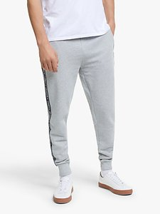 Read more about Tommy hilfiger repeat logo tape joggers grey heather