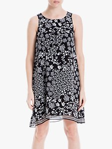 Read more about Max studio sleeveless printed dress black
