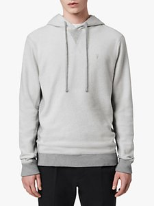 Read more about Allsaints reverser pullover hoodie mid grey marl