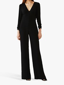 Read more about Ghost ellie wide leg jumpsuit black