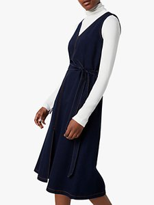 Read more about French connection pulika belted denim dress raw blue