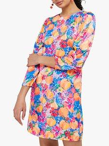 Read more about Monsoon fancy fruit mini dress multi