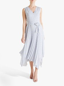 Read more about Fenn wright manson amanda holden collection lily polka dot pleated wrap dress white