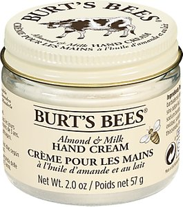 Read more about Burt s bees almond milk beeswax hand creme 57g