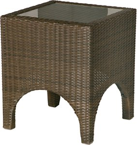 Read more about Barlow tyrie savannah square 2-seat outdoor side table