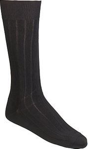 Read more about Calvin klein rib socks pack of 3 one size black