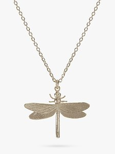 Read more about Alex monroe dragonfly necklace silver
