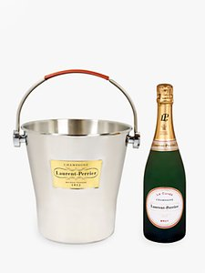 Read more about Laurent-perrier brut champagne in ice bucket 75cl
