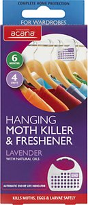 Read more about Acana hanging moth killer and wardrobe freshener pack of 4