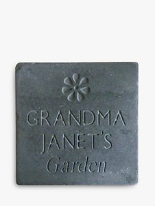 Read more about Personalised garden slate