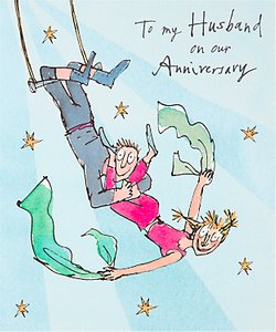 Read more about Woodmansterne husband anniversary card