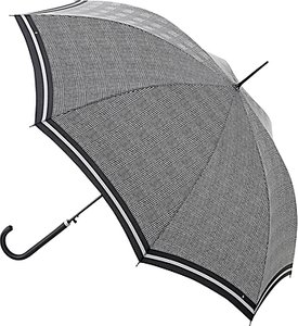 Read more about Fulton riva prince of wales check walking umbrella black