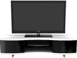 Read more about Bdi ola 8137 tv stand for tvs up to 75 satin white