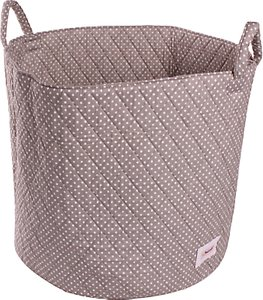 Read more about Minene large dots storage basket grey