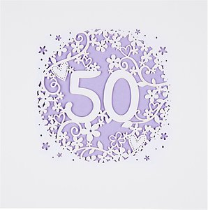 Read more about Paperlink 50th birthday card