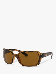 Read more about Ray-ban rb4068 oversized square sunglasses havana