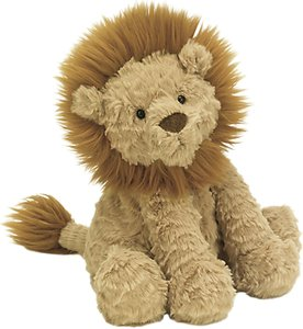 Read more about Jellycat fuddlewuddle lion soft toy medium beige