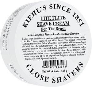 Read more about Kiehl s lite flight shave cream 128g