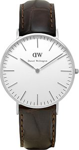 Read more about Daniel wellington 0610dw women s classy york leather strap watch brown croc