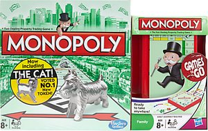 Read more about Monopoly board game and monopoly travel set