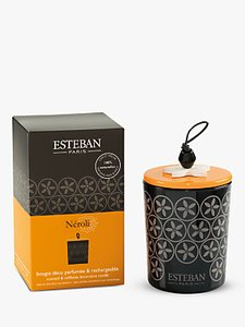 Read more about Esteban neroli scented decorated candle 170g