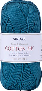 Read more about Sirdar cotton dk yarn 100g