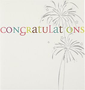 Read more about Caroline gardner fireworks congratulations card