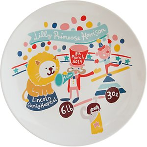 Read more about Ethel and co personalised circus decorative plate