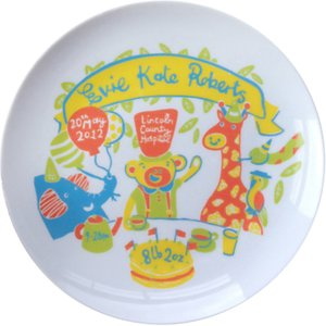 Read more about Ethel and co personalised jungle decorative plate