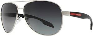 Read more about Prada linea rossa ps53ps classic aviator metal frame sunglasses grey
