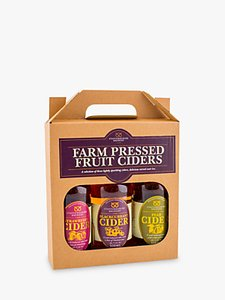 Read more about Staffordshire brewery farm pressed fruit ciders set 3 x 500ml