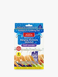 Read more about Acana hanging wardrobe moisture absorber sachets pack of 4