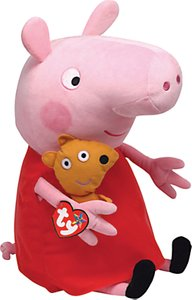 Read more about Ty peppa pig soft toy 38cm