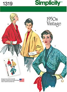 Read more about Simplicity women s vintage jacket sewing patterns 1319