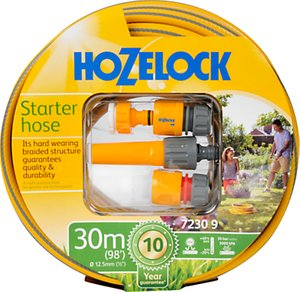 Read more about Hozelock starter set with multi-purpose hose 30m