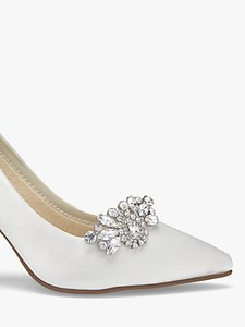 Read more about Rainbow club myra diamante embellished shoe clips