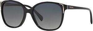 Read more about Prada pr01os oval sunglasses black
