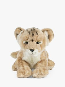 Read more about Living nature lion cub soft toy