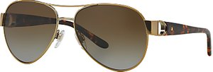Read more about Ralph lauren rl7047q polarised aviator sunglasses gold
