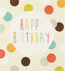 Read more about Caroline gardner cream spots birthday card