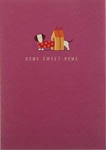 Read more about Art file home sweet home greeting card