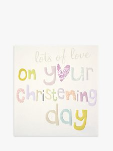 Read more about Caroline gardner on your christening greeting card