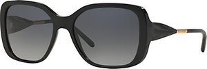 Read more about Burberry be4192 square framed polarised sunglasses black