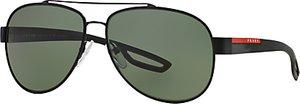 Read more about Prada linea rossa ps55qs aviator polarised sunglasses black