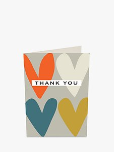 Read more about Caroline gardner hearts thank you notecards pack of 10