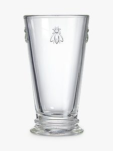 Read more about La roch re bee long drink tapered glass clear
