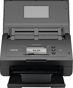 Read more about Brother ads-2600we scanner with wi-fi automatic document feeder 3 6 touch display