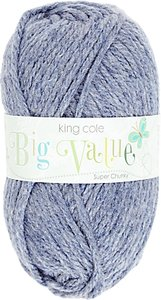 Read more about King cole big value super chunky yarn 100g