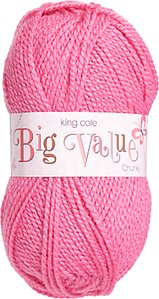 Read more about King cole big value chunky yarn 100g