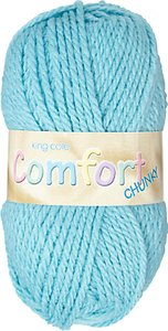 Read more about King cole comfort chunky yarn 100g